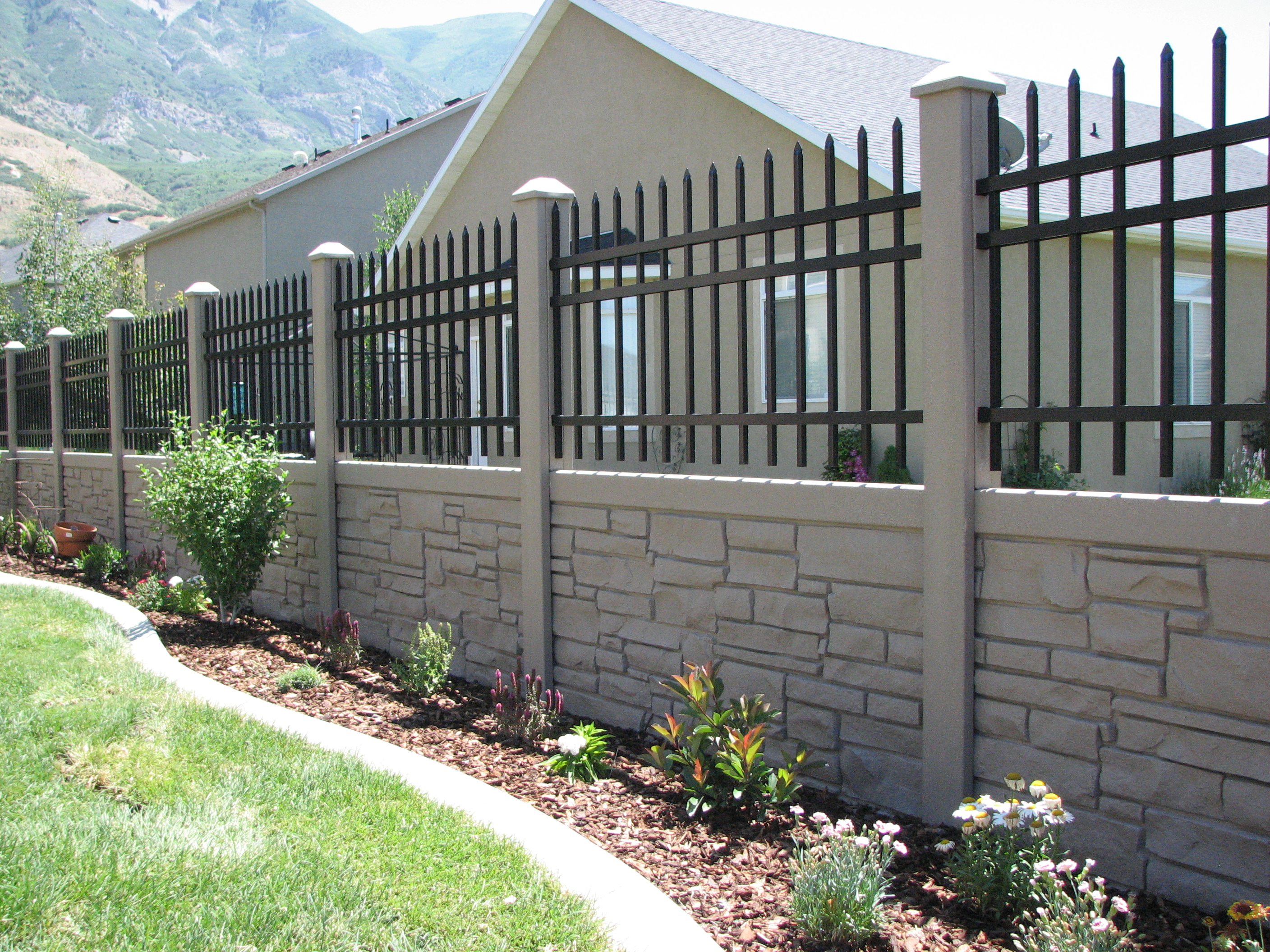 Sound Barrier Fence Ideas Decorating Great Solution Of