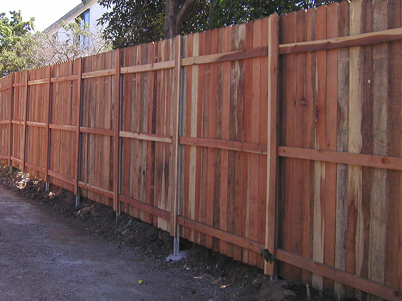 Redwood With Postmaster Posts Fence Factory