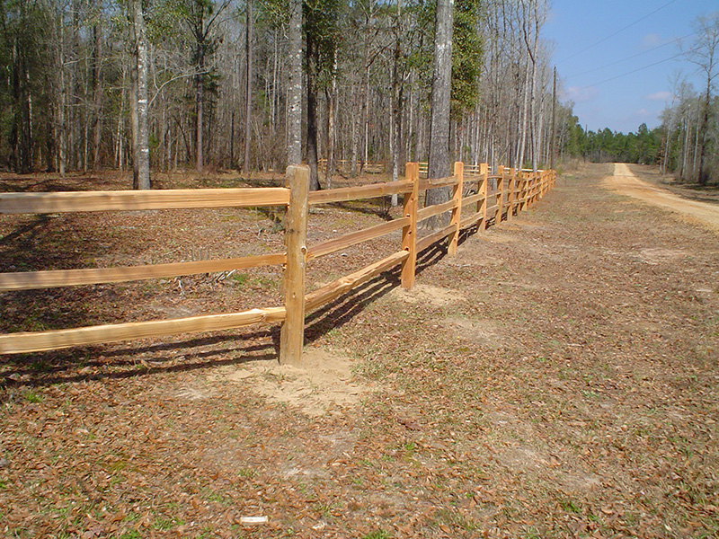 4 High 3 Rail Fence Factory