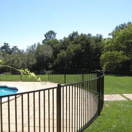 Ornamental Pool Fence