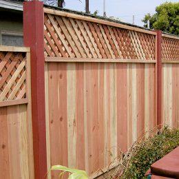 Pre-Fab Redwood Panels