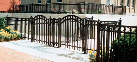 decorative gate - Decorative Fencing