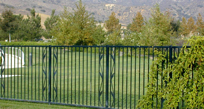 decorative fence - Decorative Fencing