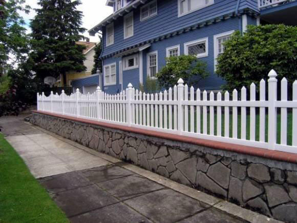 Vinyl Picket Fence Archives Fence Factory
