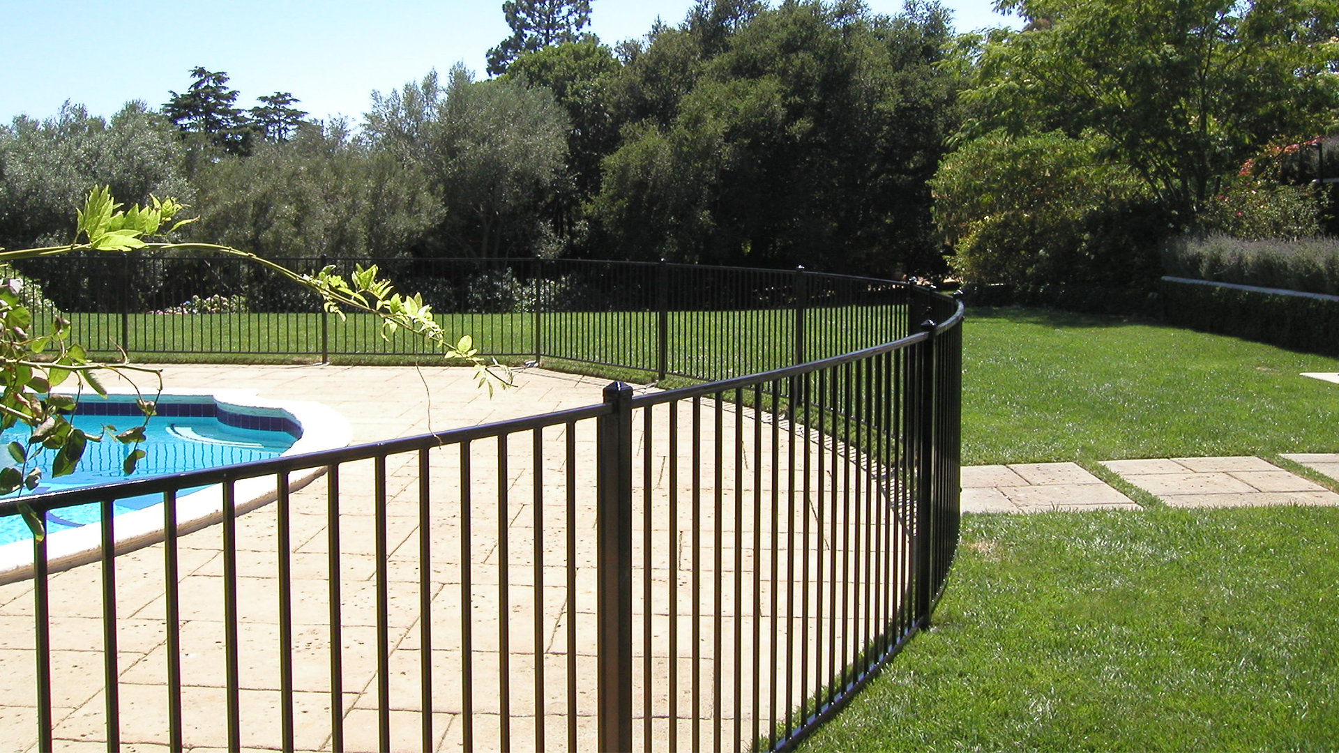 Best pool fence design images decoration design ideas for Pool design ventura