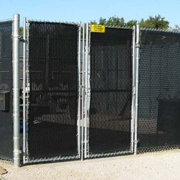 Chain-Link With Screen