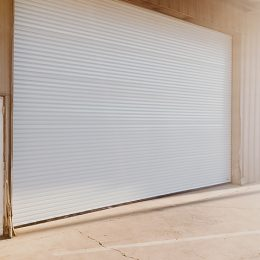 POREVENE 200 SERIES STEEL ROLL UP COMMERCIAL DOOR