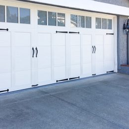 STEEL CARRIAGE SECTIONAL  DOOR A