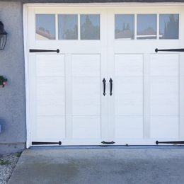 STEEL CARRIAGE SECTIONAL  DOOR B