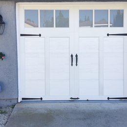 STEEL CARRIAGE SECTIONAL  DOOR B