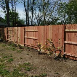 Redwood Con-Common Good Neighbor Fence